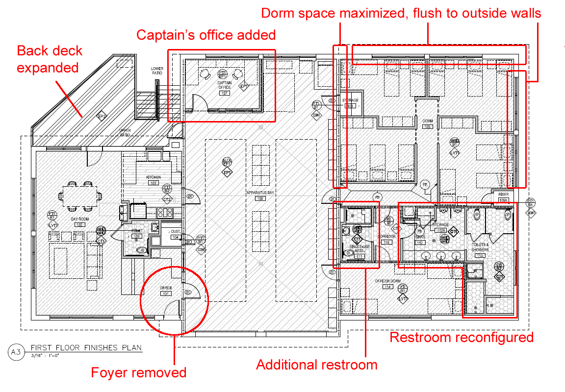 Updated Details On Renovations Of Fire Station 5 Legeros Fire Blog