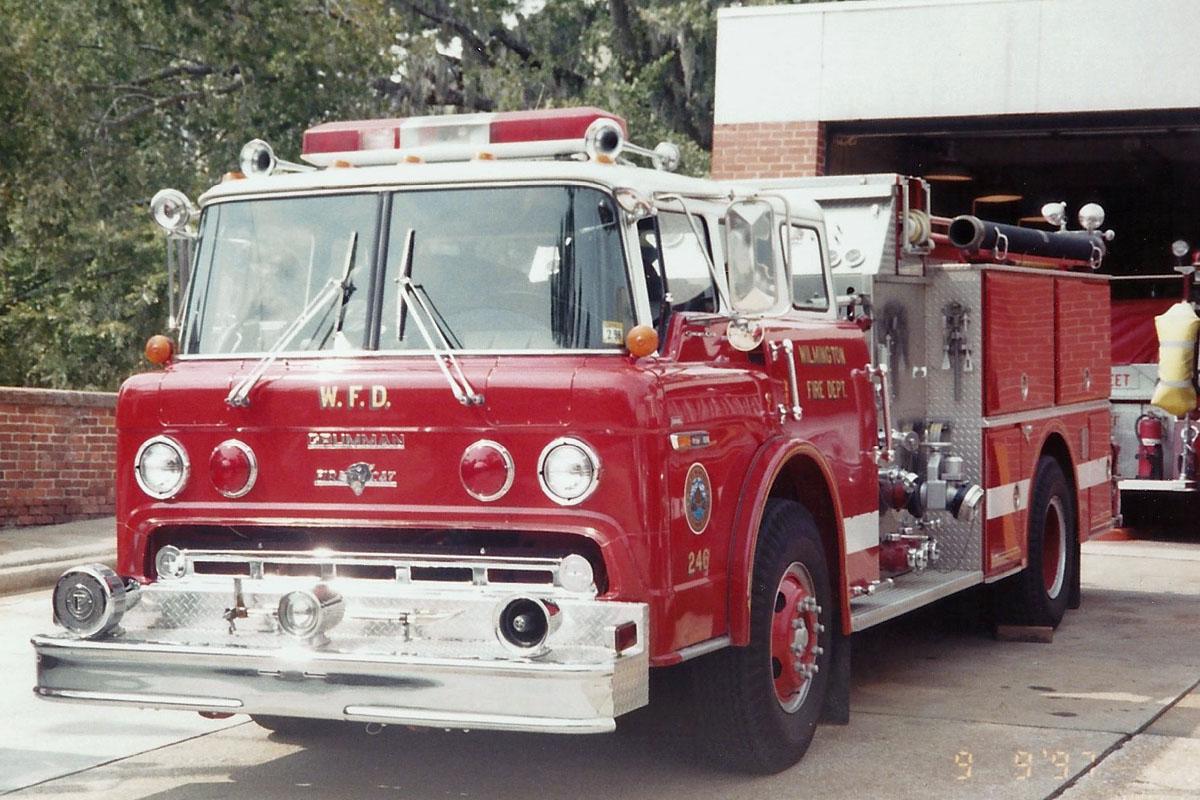 Vintage Wilmington Fire Apparatus in 1997 – Legeros Fire Blog