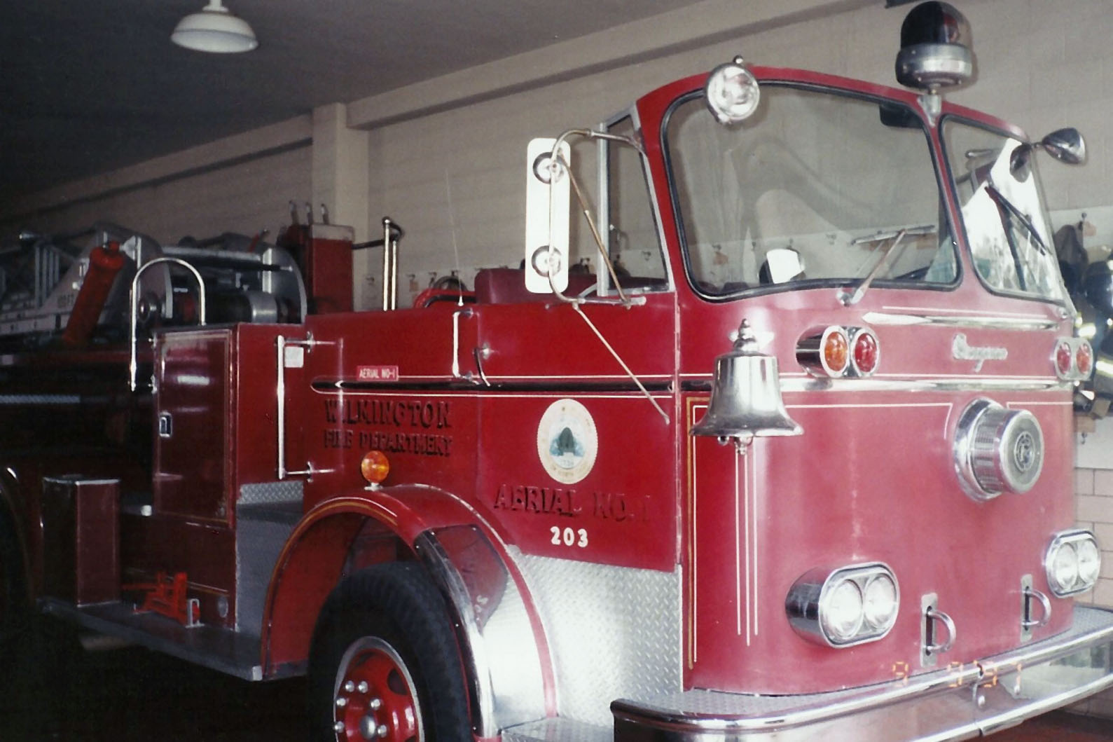 Henry Day Ford >> Vintage Wilmington Fire Apparatus in 1997 – Legeros Fire Blog