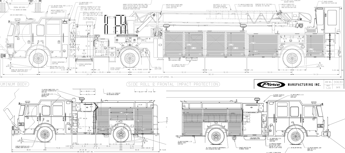 production starts on raleigh s third tiller and two engines rh legeros com Pierce Dash CF Fire Engine Clip Art