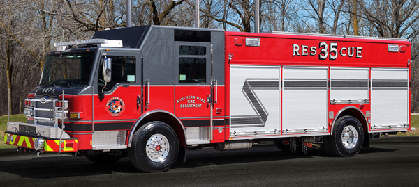 New Rescue, New Colors for Bay Leaf Fire Department ...