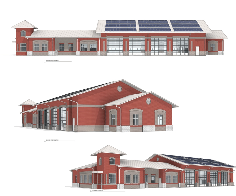 Drawings Of Durham Fire Station 17 Legeros Fire Blog