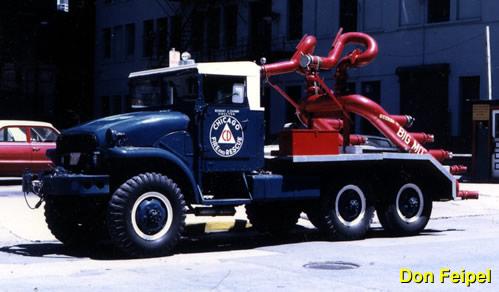 Seagrave Fire Apparatus >> Civil Defense Fire and Rescue Apparatus