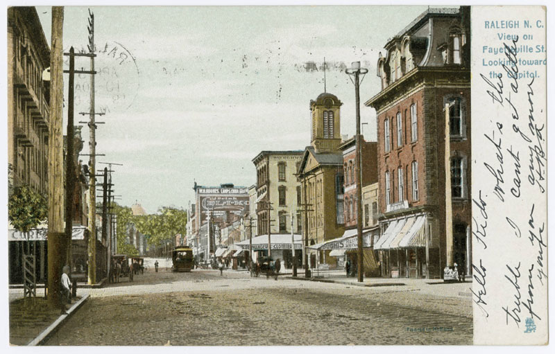 History By Mike Legeros Historic Raleigh In Postcards