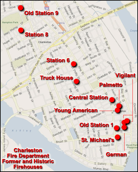 Map Of Historic Charleston SC Submited Images  Pic2Fly