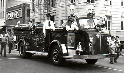 North Carolina Firefighting History By Mike Legeros