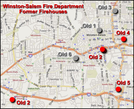 Winston Salem Nc Map Submited Images  Pic2Fly