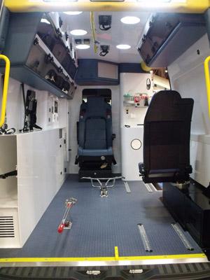 Ambulance Design Safety Improvements Sprinter Chassis