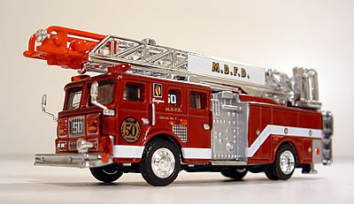 Mid City Nissan >> Die-Cast Fire and Emergency Vehicles - Aerial Ladders