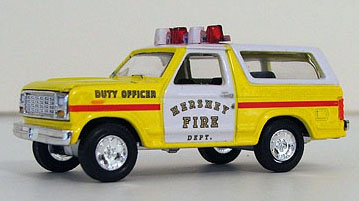 Die Cast Fire Apparatus - Command Vehicles, American